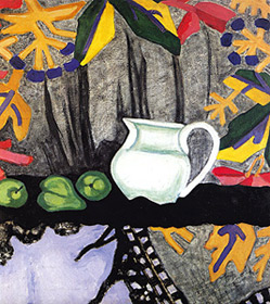 O.V. ROZANOVA 'STILL LIFE', from funds of the Art Museum named after A.N. Radishchev