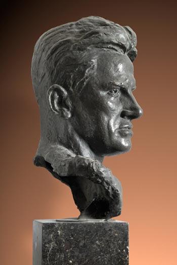 А.П. Кибальников. Портрет В.В. Маяковского, 1953 год