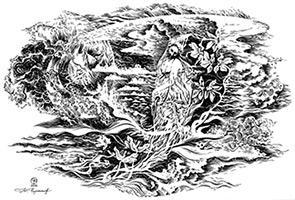Юрий Черепанов «Слушая пение». Стихотворение Анны Ахматовой на пение Г. Вишневской