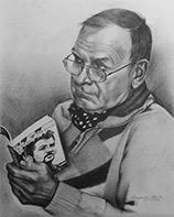 Раиса Арефьева «Портрет Анатолия Апостолова»