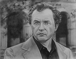 Раиса Арефьева «Портрет А.А. Зиновьева»