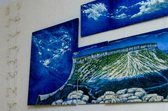 STAIRWAY TO HEAVEN, one-man exhibition of Painting and Graphics by MARGARITA SIOURINA in the ASTI Gallery
