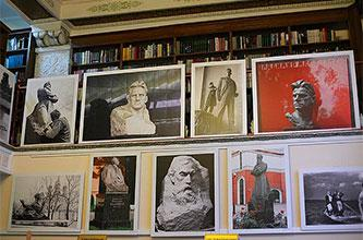 IN MEMORY OF THE GREAT ARTIST A.P. Kibalnikov in the Central Library named after N.A. Dobroliubov in Moscow