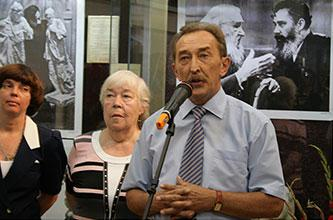IN MEMORY OF THE GREAT ARTIST A.P. Kibalnikov in the Saratov Regional Local History Museum with the participation of artists from Moscow and Volgograd