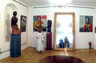 Opening of the exhibition project 'THE PORTRAIT OF RUSSIAN FINE WORD' held in Marina Tsvetaeva Memorial Museum, Moscow, June 30, 2014