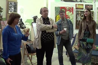 REPORT ON THE ROUND-TABLE MEETING IN THE RYABICHEVS' CREATIVE ART STUDIO, SEPTEMBER 11, 2014