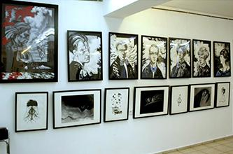 """Video and photo coverage on the opening of exhibition """"No, I'm not Byron; I am yet another choice…"""""""