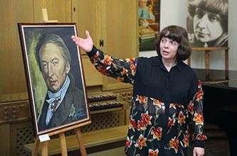 """OPENING CEREMONY OF THE EXHIBITION """"HISTORY OF THE RUSSIAN STATE IN PERSONS"""", ART PROJECT """"PORTRAIT OF THE RUSSIAN FINE WORD"""""""