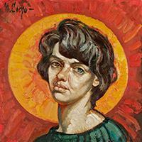 The artist Margarita Siourina. Self-Portrait